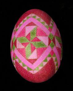 Quilt Inspired | Eggs by Teresa