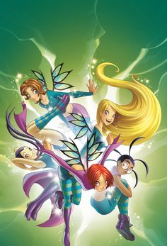 W.I.T.C.H  Ha remember this show?