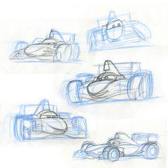 Cars 2 Character Design: Francesco Bernoulli