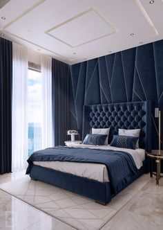 Discover the Ultimate Master Bedroom Styles and Inspirations Nightstands, beds, side tables, cabinets or armchairs are some of the luxury bedroom furniture tips that you can find. Every detail matters when we are decorating our master bedroom, right? Luxury Bedroom Furniture, Luxury Bedroom Design, Bedroom Bed Design, Luxury Interior Design, Home Bedroom, Luxury Bedding, Bedroom Decor, Bedroom Ideas, Beds Master Bedroom