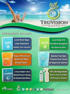 Truvision products! http://truvisionhealth.com/blessed