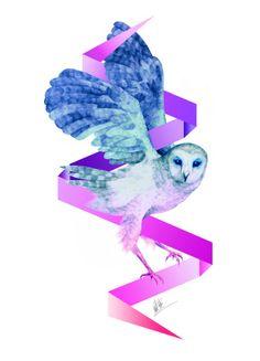 MJN Art: Bolt Owl