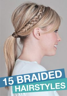 These braided hairstyles are perfect for a special occasion or a girl on the go!
