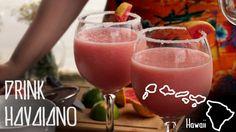Praias do Mundo #3 - Drink Havaiano de Goiaba e Lichia
