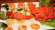 Lobster - special treat at Smugglers Cove Beach Resort #FIJI