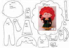 Source by reniaton Accs Felt Fabric, Fabric Dolls, Paper Dolls, Felt Diy, Felt Crafts, Felt Doll Patterns, Bear Felt, Felt Christmas Decorations, Felt Quiet Books