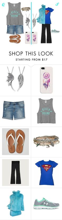 """""""Best Friends Challenge"""" by lvkrause-2359 on Polyvore featuring Casetify, Rebecca Minkoff, Victoria's Secret, American Eagle Outfitters, Aéropostale, Abercrombie & Fitch and Under Armour"""