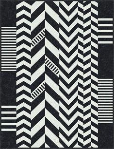 Chevron Cocktail Quilt Pattern at Bella Nonna Design Studio