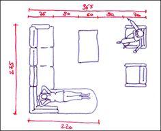 La taille et la disposition d'un canapé et des fauteuils sont essentielles pour disposer d'un salon sympa pour recevoir des amis, vivre en famille ou faire une sieste. Nos conseils d'aménagement...