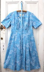 Other Women's Vintage Clothing Blue Summer Dresses, Vintage Boutique, Other Woman, Talbots, Vintage Ladies, 1950s, Vintage Outfits, Short Sleeve Dresses, Flat