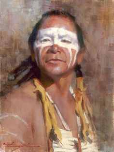 Oglala  Warrior by  Chauncey Homer kp