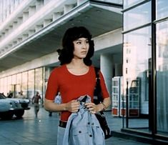 Komaki Kurihara in Moscow Му Love USSR and Japan film Tribal Women, World Famous, Protein Shakes, Moscow, Cinema, Beautiful Women, Japanese, Actresses, Film
