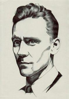 Tom hiddleston drawing https://www.flickr.com/photos/76433491@N02