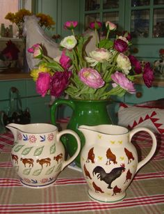 Two favourite jugs!
