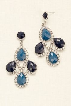 Teardrop Chandelier Earrings from David's Bridal