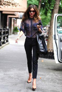 Los mejores looks de street style de Miranda Kerr | Galería de fotos 9 de 25 | Glamour Mexico