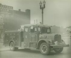 1957 International fire truck. Rescue Squad # 1.