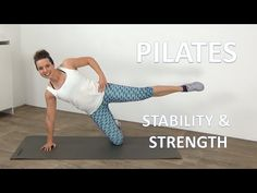 40 Minute Pilates Stability & Strength Workout – Full Body Pilates Workout - YouTube