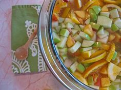 easy recipe for peach sangria - made in a large glass canister from walmart! Looks so yummy Peach Sangria, Sangria Party, Summer Sangria, White Sangria, Fun Drinks, Yummy Drinks, Beverages, Good Food, Yummy Food