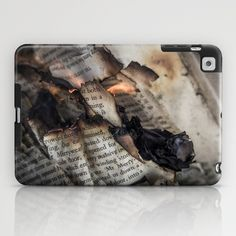 Burning+Book+iPad+Case+by+Hellodie+-+$60.00
