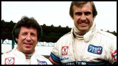 f1 Mario Andretti y Carlos Reutemann-Martini Racing Lotus Team-Gran Premio de Brasil 1979-Image by © Phipps-Sutton Images-Corbis