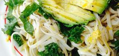 Perfect Weekday Dinner: Lemon Garlic Noodles With Greens