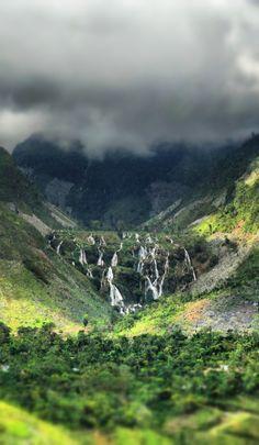 Cascades Pichon, Foret des Pins, Haiti