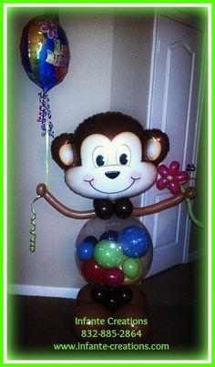 Blissful Birthday Monkey