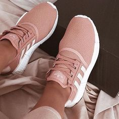 reputable site 9f7c8 a02eb Love a good pair of trainers beige nude adidas via  emilyrogalamua   sneakers  trainers
