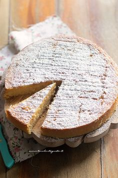 Torta di riso dolce - Ricetta Torta di riso Best Italian Recipes, Italian Desserts, Sweet Recipes, Cake Recipes, Dessert Recipes, Cupcakes, Cake Cookies, Light Cakes, Work Meals