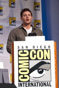 Jensen Ackles at Comic-Con 2010