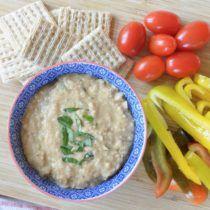 Simple Balsamic White Bean Dip (+ our GF and DF Team Dinner!)