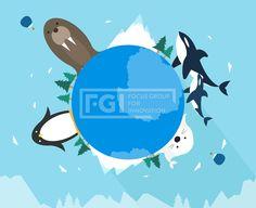 SILL225, 프리진, 일러스트, 세계동물, 지구, 글로벌, 여행, 해외, 동물, 벡터, 에프지아이, 심플, 배경, 백그라운드, 실루엣, 구름, 열기구, 나무, 식물, 산, 남극, 겨울, 범고래, 고래, 펭귄, 물범, 바다사자, 지도, 세계, 지구본, 귀여운, 플랫, 일러스트, illust, illustration #유토이미지 #프리진 #utoimage #freegine 19983754