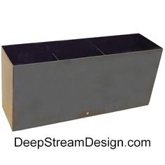 DeepStream custom welds planter liners, from simple to complex in any size, from rugged food safe polypropylene and HDPE. Have a question or want to discuss your project or challenges? Call Sheila at (305) 857-0466 between 8:30 AM and 6:00 PM for a quick quote or email her at dsdmiami@gmail.com  With thousands of installations over 16 years Sheila is a valuable source of information for home owners, developers, and Landscape Architects alike. Planter Liners, Plastic Planter, Quick Quotes, Landscape Architects, Safe Food, Planters, Commercial, Challenges, Storage