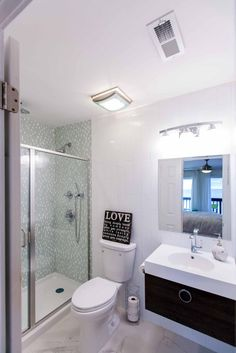 HGTV.com shares our favorite small bathroom makeovers from shows like Property Brothers and Rehab Addict.