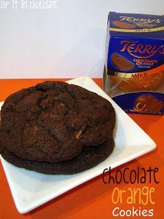 Terrys Chocolate Orange Cookies one of the best things ever!!!!!