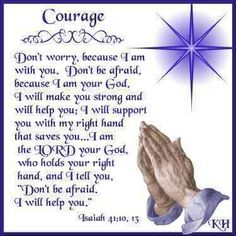 courage | ... is a great test of our courage courage is an attribute that god