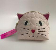 Betsey Johnson Kitty Blush Cosmetic Bag Cat Make Up BM18725 | Health & Beauty, Makeup, Makeup Bags & Cases | eBay!