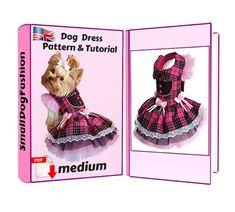 Dog clothes small Pattern dog dress PDF dog clothes For small | Etsy Small Dog Clothes Patterns, Clothing Patterns, Sewing Patterns, Dog Pattern, Pattern Dress, Dog Dresses, Girl Dog Clothes, Pekinese, Dog Winter Coat