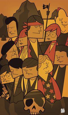 The Goonies by Ale Giorgini