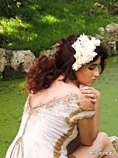 Model: Koral Antolin Maillo (Spanish actress)  Fashion Designer: Yulia Eremina  Make-up Artist: (Marta Bernia Professional Make Up)  Hair Stylist: Elena Cerezo