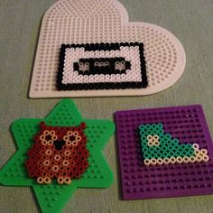 Hama beads crafts by natashafurlani