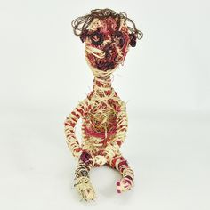 Online Gallery  Cute little fellow @ $132 for sale on our online gallery Textile Sculpture, Online Gallery, Deserts, Weaving, Textiles, Christmas Ornaments, Holiday Decor, Cute, Image Search