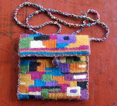 A Word From Elena: Mirrix's Weave-Along 3: The Woven Purse