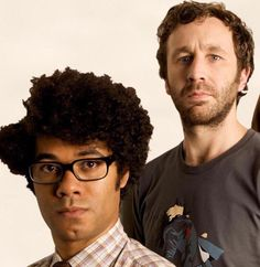 Roy and Moss ( The IT Crowd )