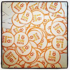 #stickers rond   www.makemysunday.com