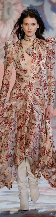 Fall 2018 RTW Zimmermann Floral Fashion, Boho Fashion, Autumn Fashion, Fashion Looks, Womens Fashion, Fashion Design, Fashion Trends, Only Fashion, Fashion Show