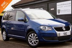Volkswagen Touran 2.0 TDI DPF Match 170 5dr MPV Diesel Biscay Blue Metallic for sale at http://www.simonshieldcars.co.uk/used/volkswagen/touran/20-tdi-dpf-match-170-5dr/ipswich/suffolk/16817485
