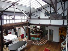 Charpente métallique | Iron | Pinterest | Lofts, Iron and Architecture