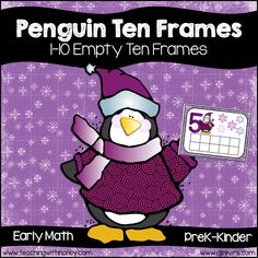 Penguin Ten Frames